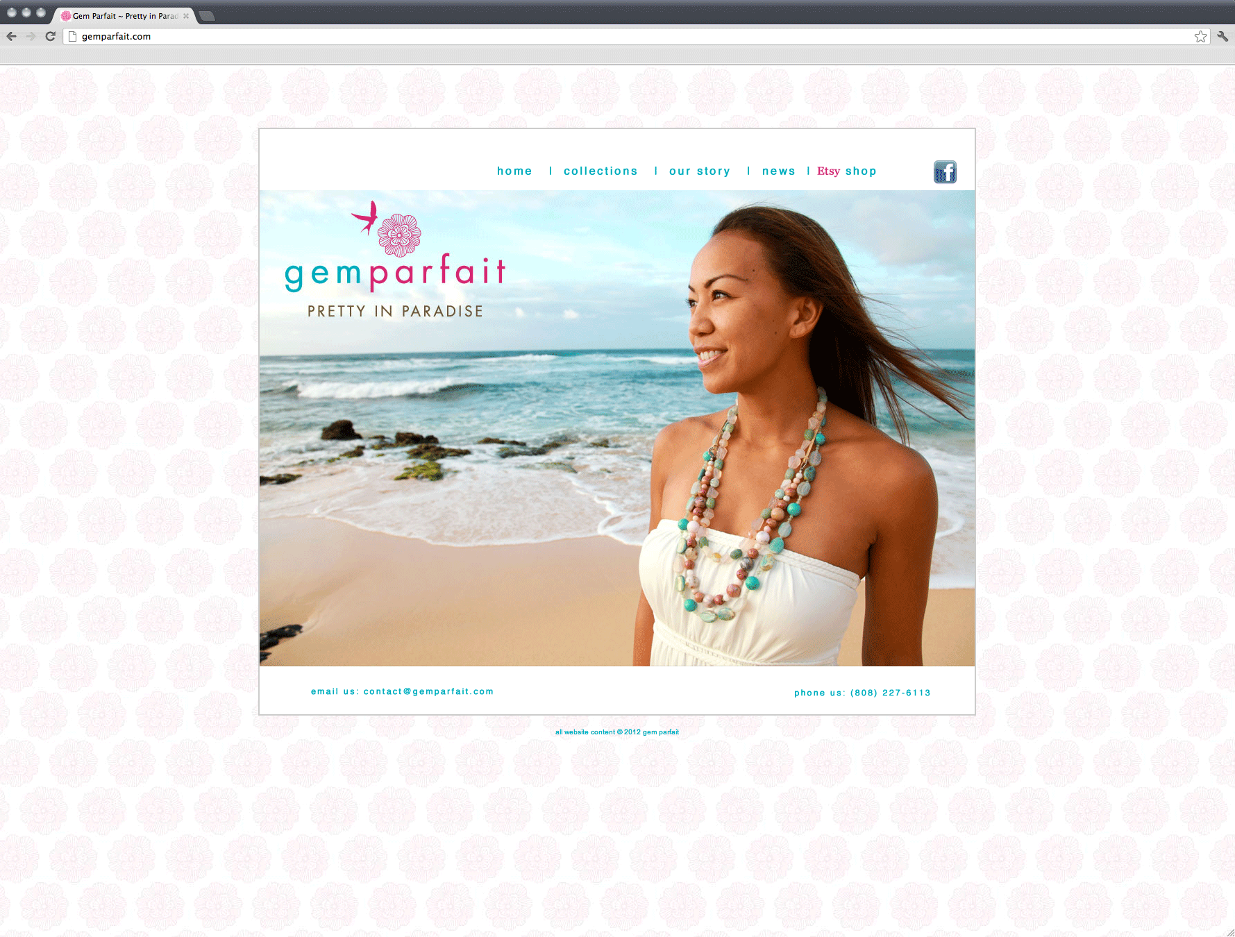 Gem Parfait website