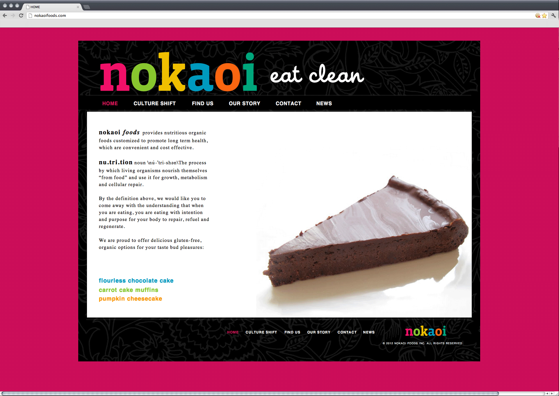 nokaoi foods website