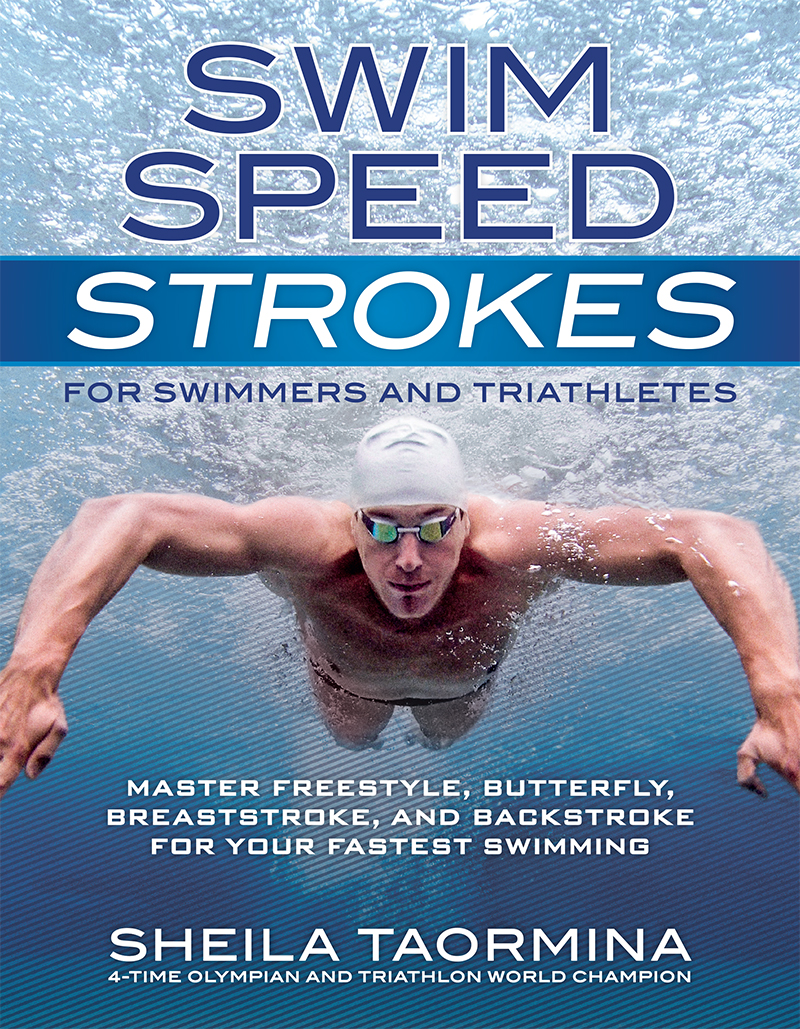 Cover design for Swim Speed Stroke for Swimmers and Triathletes. Third in a series for VeloPress.