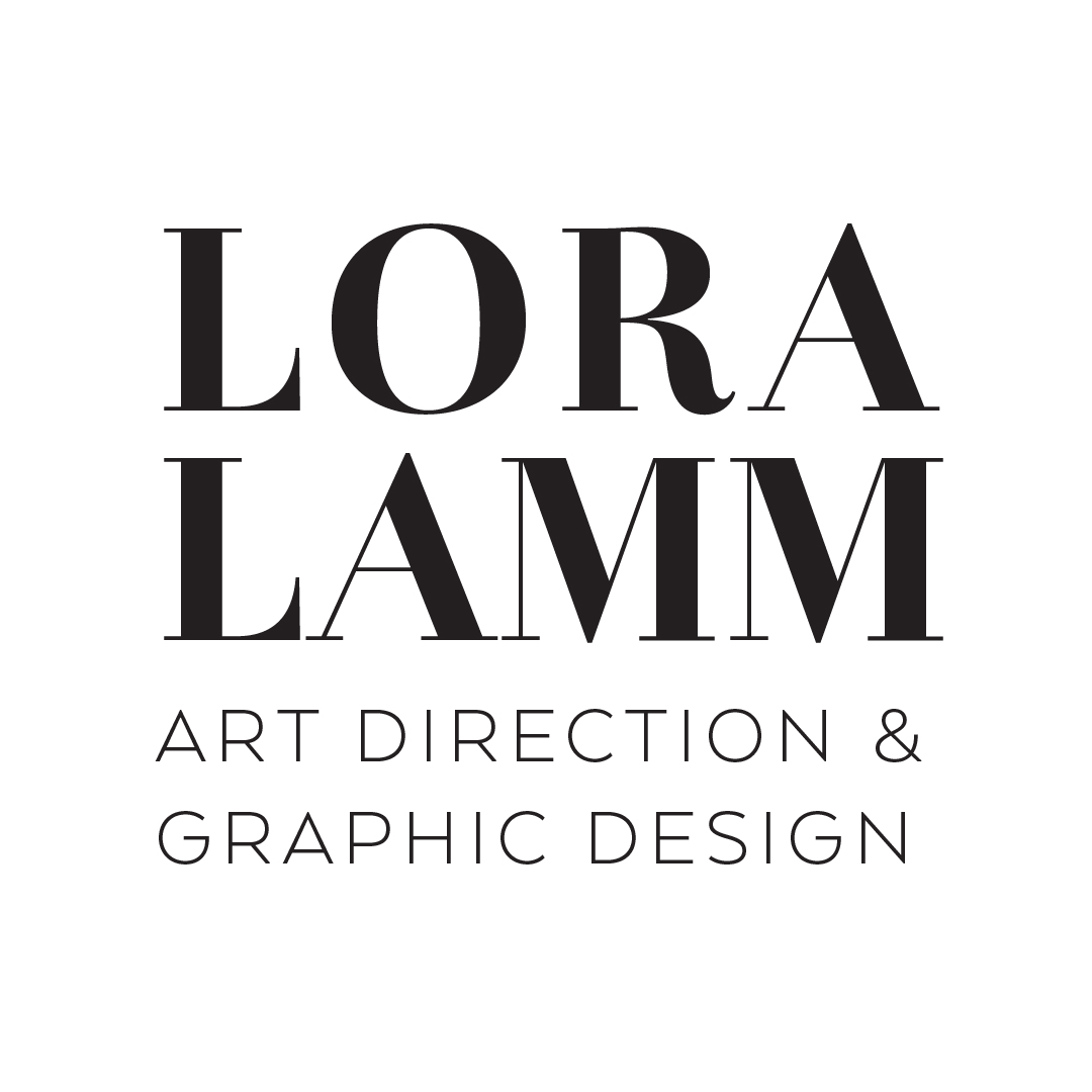 Lora Lamm Art Direction & Graphic Design logo